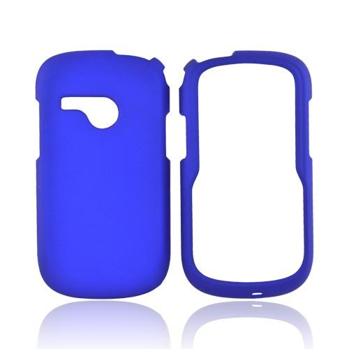 LG Saber UN200 Rubberized Hard Case - Blue