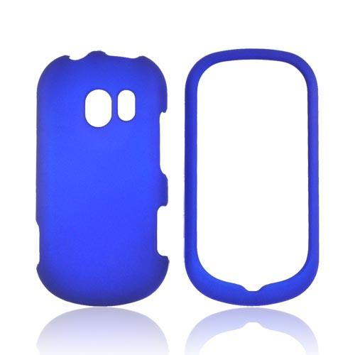 LG Extravert VN271 Rubberized Hard Case - Blue