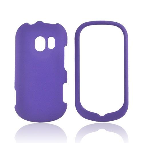 LG Extravert VN271 Rubberized Hard Case - Purple