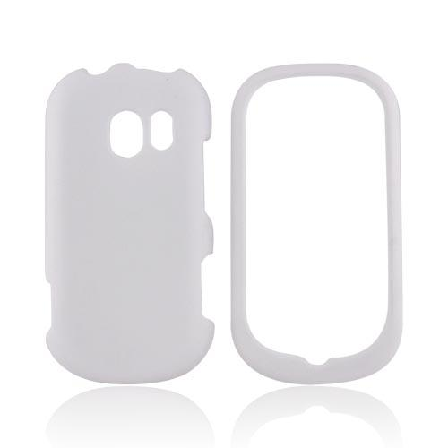 LG Extravert VN271 Rubberized Hard Case - Solid White