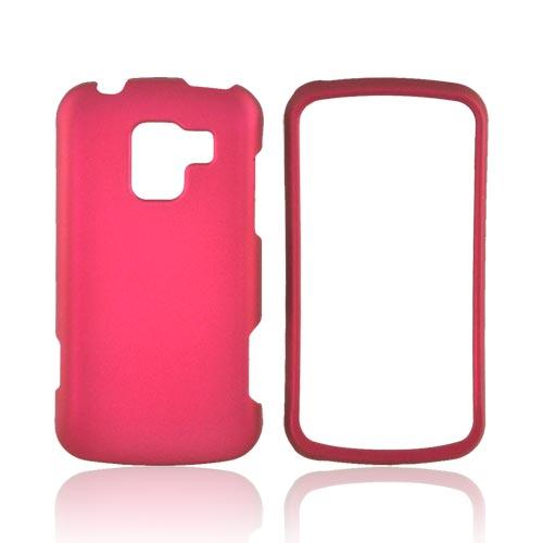 LG Enlighten VS700 Rubberized Hard Case - Rose Pink