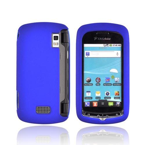 LG Genesis VS760 Rubberized Hard Case - Blue