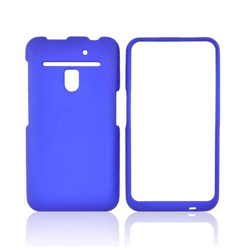 LG Revolution, LG Esteem Rubberized Hard Case - Blue