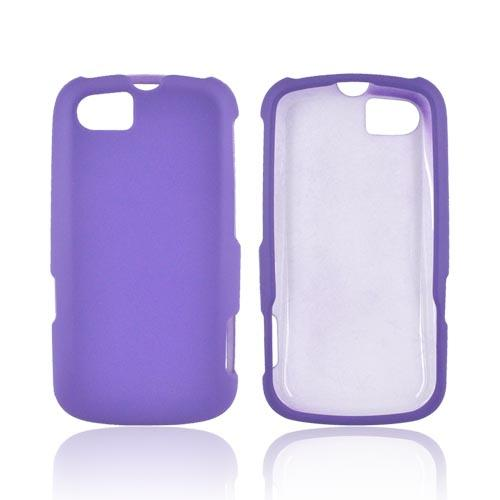 Motorola Admiral Rubberized Hard Case - Purple
