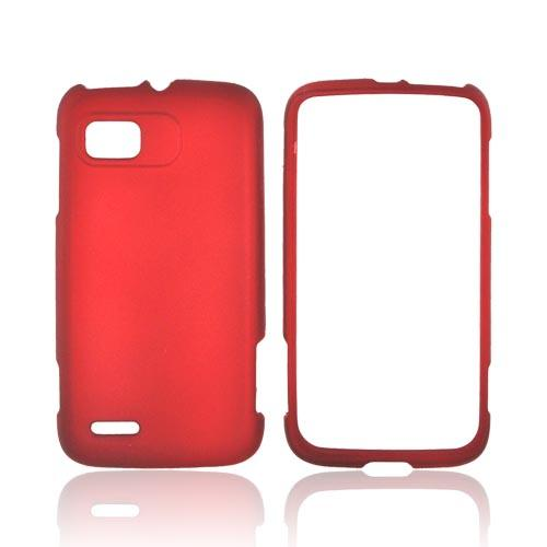 Motorola Atrix 2 Rubberized Hard Case - Red
