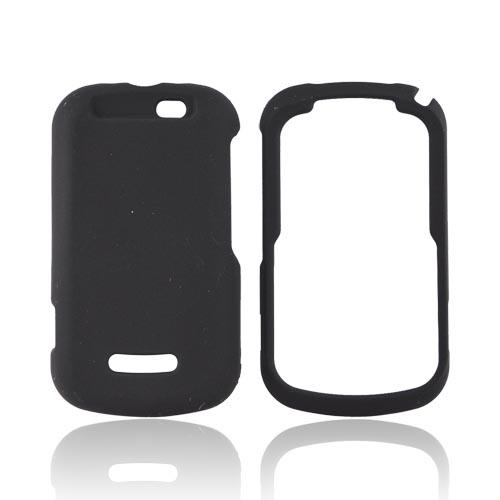 Motorola Clutch+ i475 Rubberized Hard Case - Black