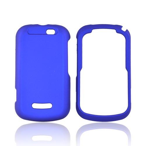 Motorola Clutch+ i475 Rubberized Hard Case - Blue