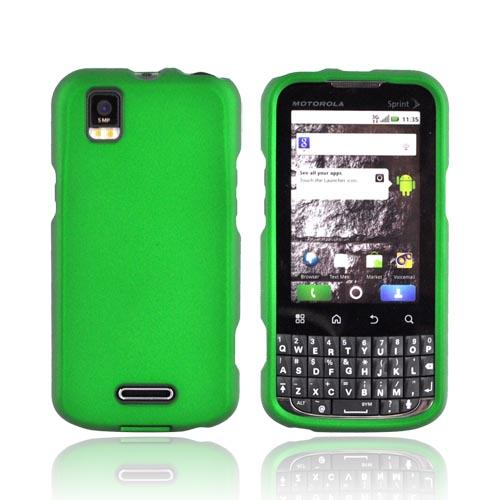 Motorola XPRT MB612 Rubberized Hard Case - Green