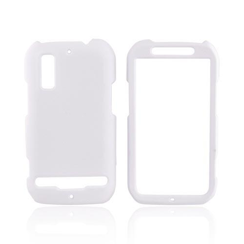 Motorola Photon 4G Rubberized Hard Case - Solid White
