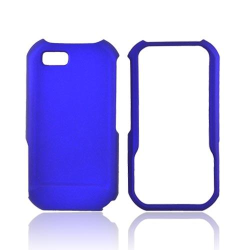 Motorola TITANIUM Rubberized Hard Case - Blue