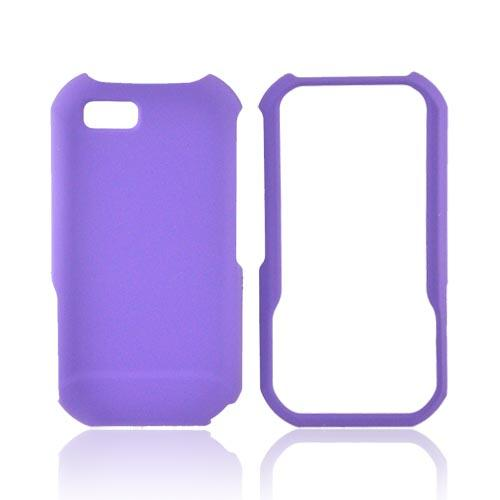 Motorola TITANIUM Rubberized Hard Case - Purple