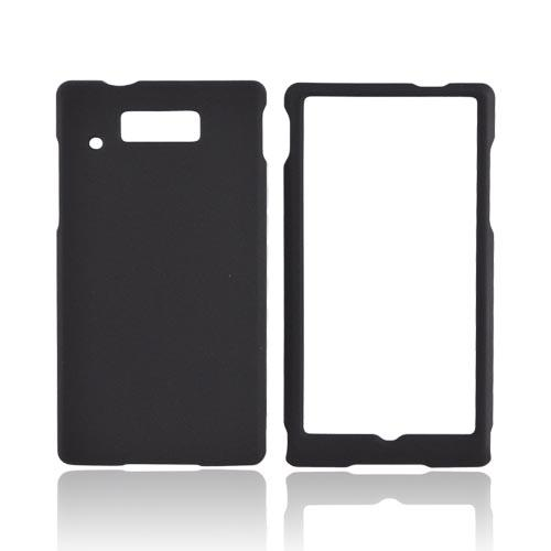 Motorola Triumph Rubberized Hard Case - Black