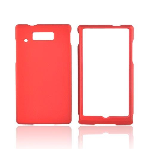 Motorola Triumph Rubberized Hard Case - Orange