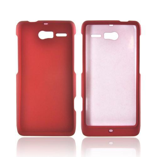 Motorola Droid RAZR M Rubberized Hard Case - Red