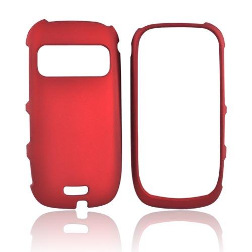 Nokia Astound C7-00 Rubberized Hard Case - Red