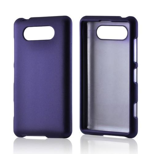 Purple Rubberized Hard Case for Nokia Lumia 820