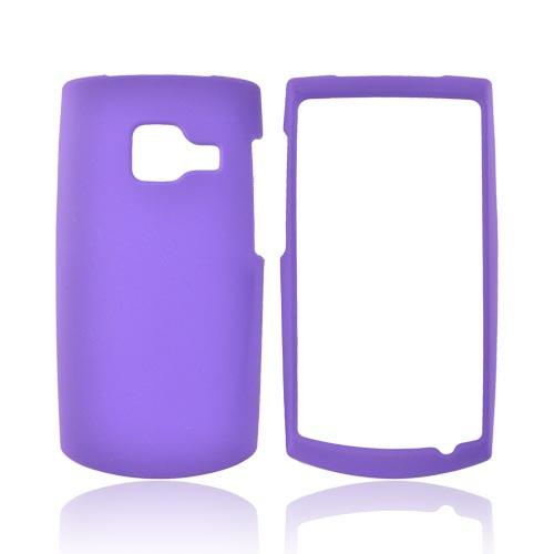 Nokia X2-01 Rubberized Hard Case - Purple