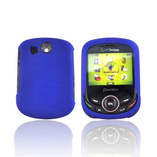 Pantech Jest 2 Rubberized Hard Case - Blue