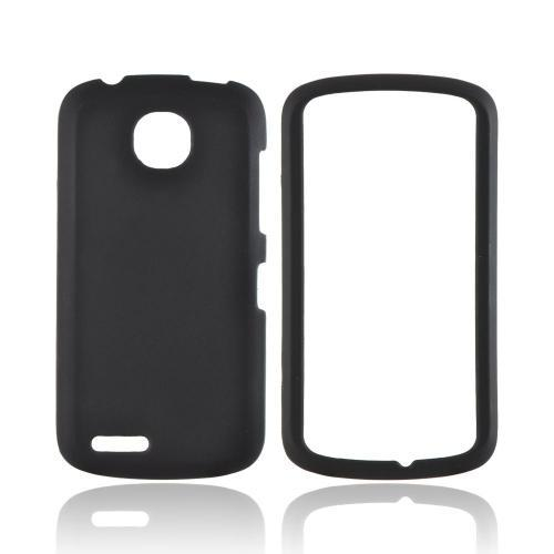 Pantech Marauder Rubberized Hard Case - Black