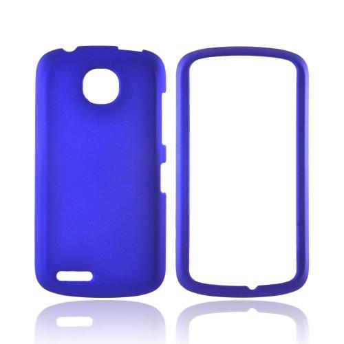 Pantech Marauder Rubberized Hard Case - Blue