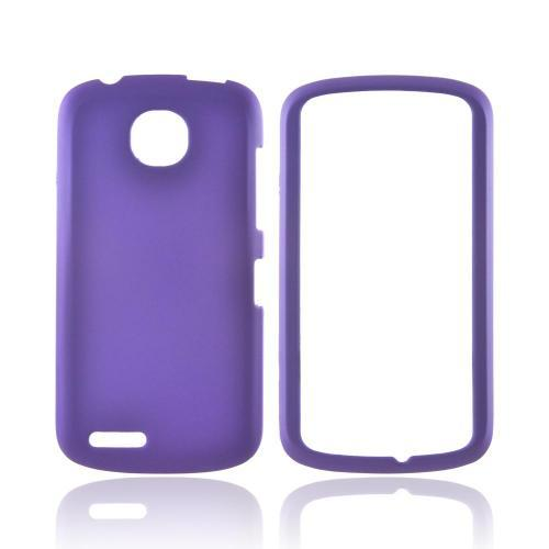 Pantech Marauder Rubberized Hard Case - Purple