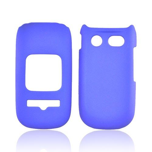 Pantech Breeze 3 Rubberized Hard Case - Blue