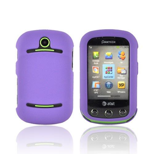 Pantech Pursuit 2 P6010 Rubberized Hard Case - Purple