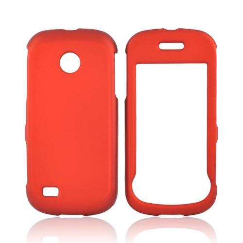 Luxmo Samsung Eternity 2 A597 Rubberized Hard Case - Orange