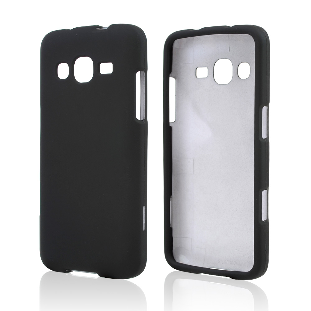 Black Rubberized Hard Case for Samsung ATIV S Neo