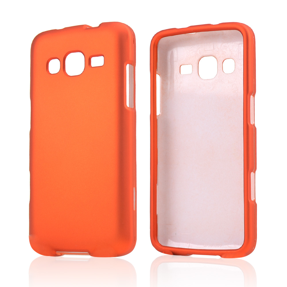 Orange Rubberized Hard Case for Samsung ATIV S Neo