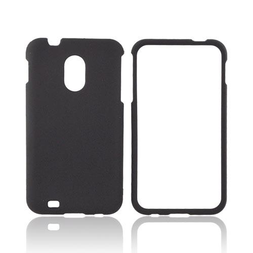 Samsung Epic 4G Touch Rubberized Hard Case - Black