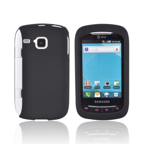 Samsung DoubleTime Rubberized Hard Case - Black