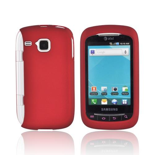 Samsung DoubleTime Rubberized Hard Case - Red