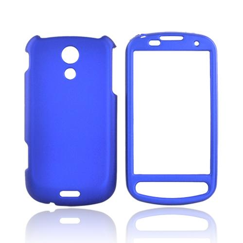 Luxmo Samsung Epic 4G Rubberized Hard Case - Blue