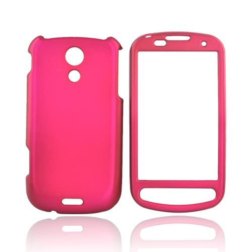 Samsung Epic 4G Rubberized Hard Case - Rose Pink