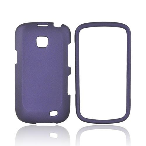 Samsung Illusion i110 Rubberized Hard Case - Purple