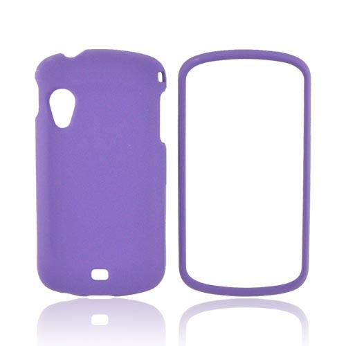 Samsung Stratosphere i405 Rubberized Hard Case - Purple