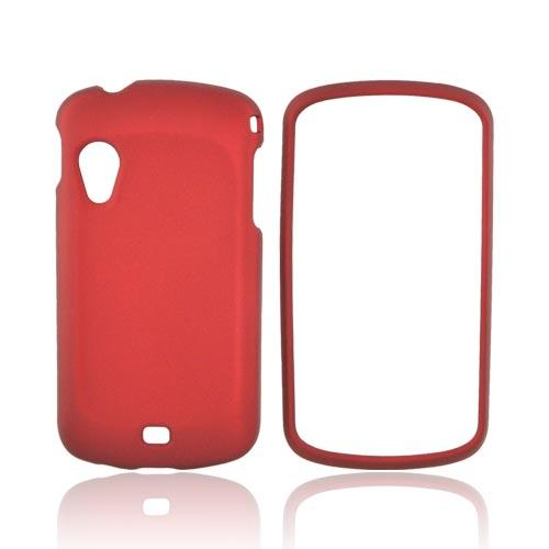 Samsung Stratosphere i405 Rubberized Hard Case - Red