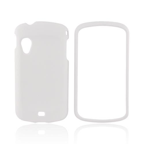 Samsung Stratosphere i405 Rubberized Hard Case - Solid White