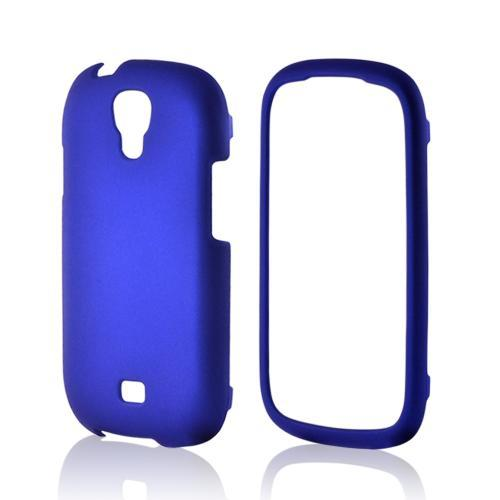 Blue Rubberized Hard Case for Samsung Stratosphere 2