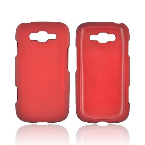 Samsung Focus 2 Rubberized Hard Case - Red
