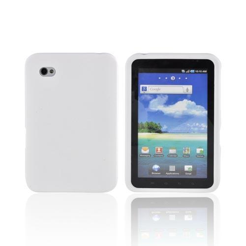 Samsung Galaxy Tab 7.0 Rubberized Hard Case - Solid White