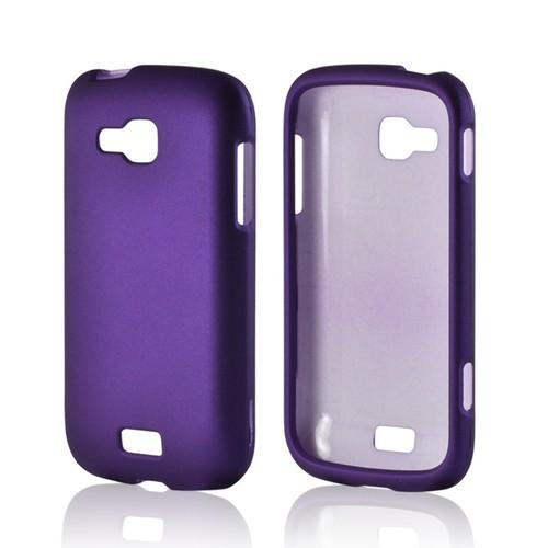 Purple Rubberized Hard Case for Samsung ATIV Odyssey