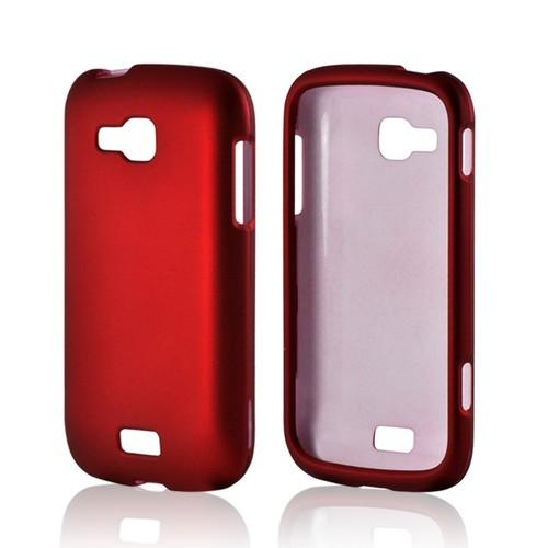 Red Rubberized Hard Case for Samsung ATIV Odyssey