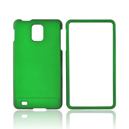 Samsung Infuse i997 Rubberized Hard Case - Green