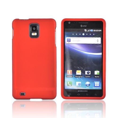 Samsung Infuse i997 Rubberized Hard Case - Orange
