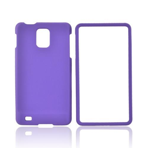 Samsung Infuse i997 Rubberized Hard Case - Purple