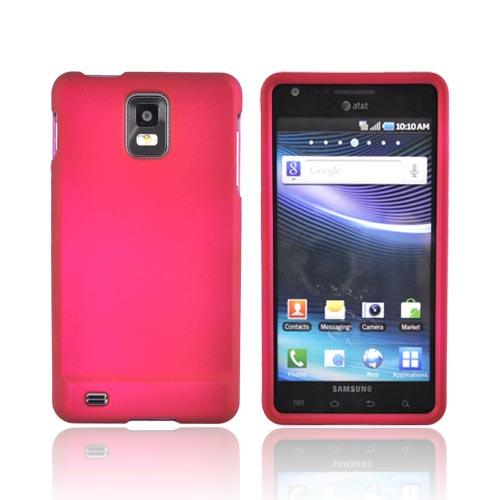 Samsung Infuse i997 Rubberized Hard Case - Rose Pink