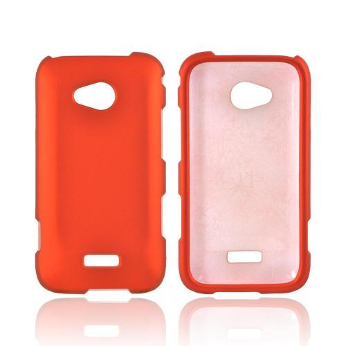 Samsung Galaxy Victory 4G LTE Rubberized Hard Case - Orange