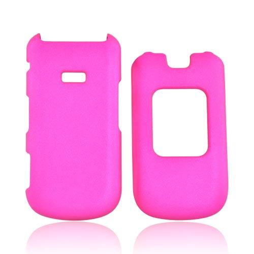 Samsung Factor M260 Rubberized Hard Case - Hot Pink